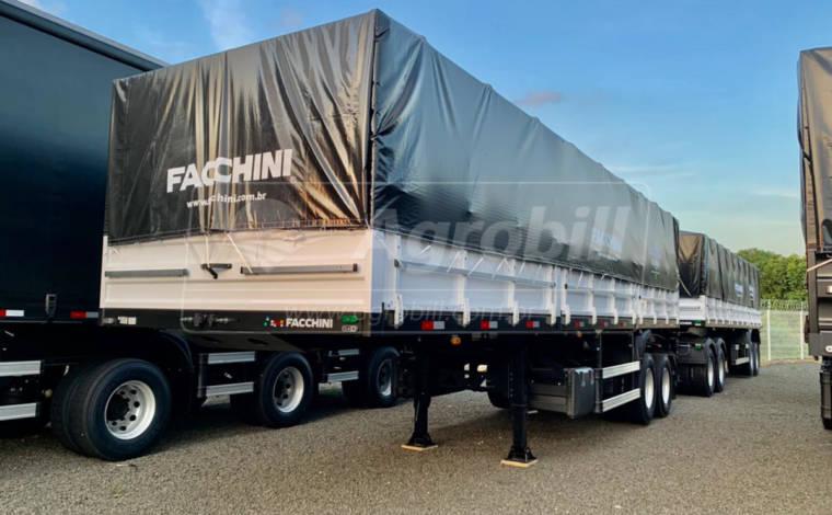 Rodotrem Graneleiro  Engate 5ª Roda, marca Facchini 0km ano 2021 a pronta entrega !! - Rodotrem Graneleiro - Facchini - Agrobill - Tratores, Implementos Agrícolas, Pneus