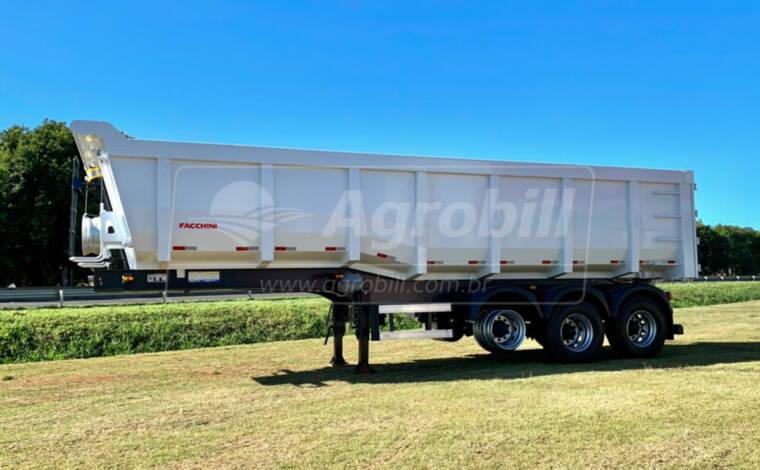 Carreta Caçamba 35 m³ Rebaixada S/ pneus – FACCHINI 0km - Carreta Basculante - Facchini - Agrobill - Tratores, Implementos Agrícolas, Pneus