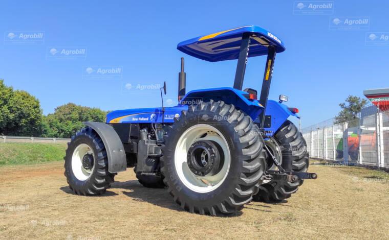 Trator New Holland 7630  4×4 ano 2019 com 770 horas, - Tratores - New Holland - Agrobill - Tratores, Implementos Agrícolas, Pneus
