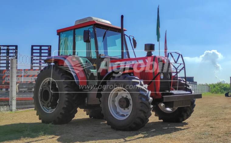 Trator Massey Ferguson 292 4×4 Advanced ano 2009 – Cabinado c/ 3.716 horas - Tratores - Massey Ferguson - Agrobill - Tratores, Implementos Agrícolas, Pneus