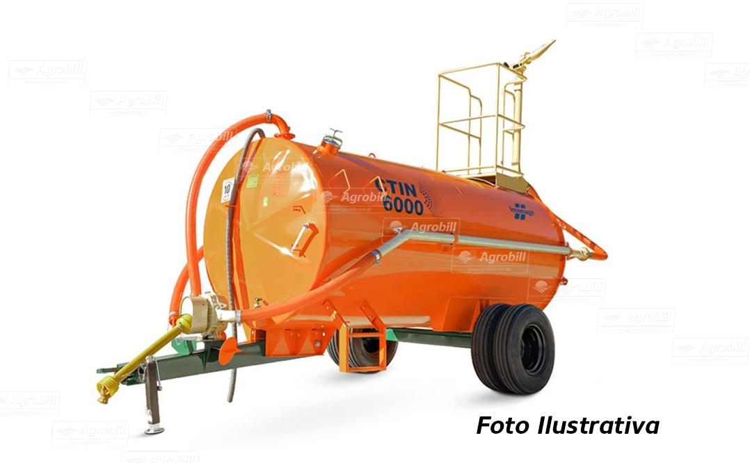 Carreta Tanque com Bomba Lobular CTIN 6000 L / Com Canhão de Combate a Incêncio / Bomba Bl-3 / Rodado Duplo / Sem Pneus – Incomagri > Novo - Tanque de Água - Incomagri - Agrobill - Tratores, Implementos Agrícolas, Pneus