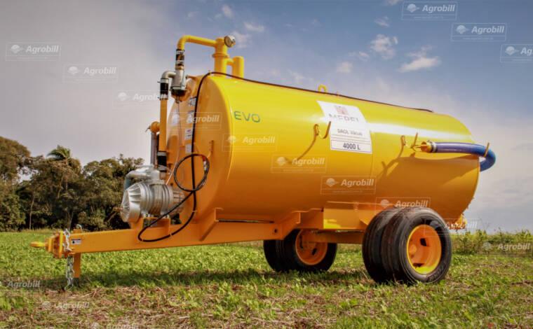 Distribuidor de Esterco Líquido DAOL Vácuo Compressor 4000 EVO / Rodado Duplo / Sem Pneus – Mepel > Novo - Distribuidor de Esterco - Mepel - Agrobill - Tratores, Implementos Agrícolas, Pneus