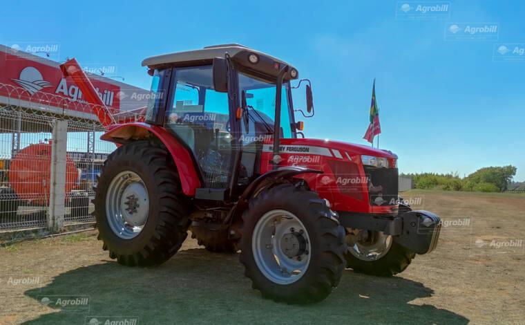Trator Massey Ferguson 4275 4×4 ano 2018 com apenas 1027 horas de uso. - Tratores - Massey Ferguson - Agrobill - Tratores, Implementos Agrícolas, Pneus