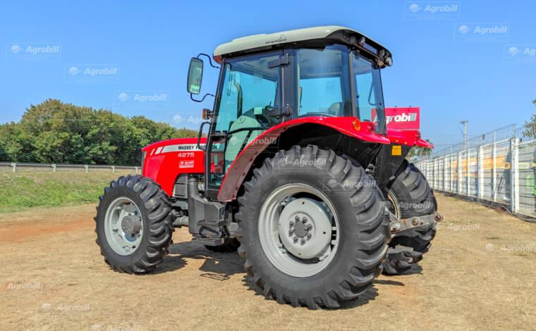 Trator Massey Ferguson 4275 4×4 ano 2017 Cabinado - Tratores - Massey Ferguson - Agrobill - Tratores, Implementos Agrícolas, Pneus