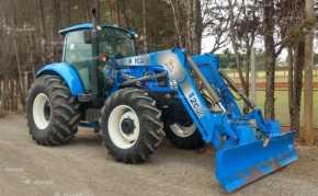 Trator New Holland T 6.130 4×4 ano 2016/2017 c/ conjunto Fronal TATU - Tratores - New Holland - Agrobill - Tratores, Implementos Agrícolas, Pneus