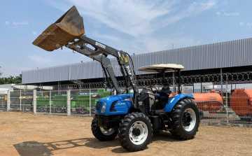 Trator LS Plus 80 4×4 ano 2014 c/ conjunto de Concha apenas 2.515 horas de uso - Tratores - LS Tractor - Agrobill - Tratores, Implementos Agrícolas, Pneus
