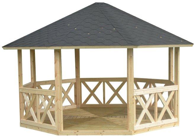 Fabriquer Un Kiosque De Jardin - Décoration de maison idées de ...