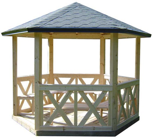 Kiosque de jardin - Agrobois, saunas, cuisson extérieure