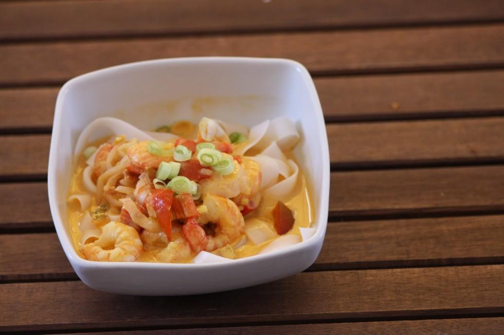 Zuppa di gamberi dalla cucina thailandese  Agrodolce