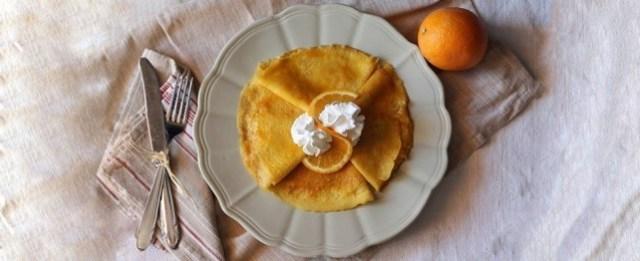Le crêpe all'arancia sono pronte
