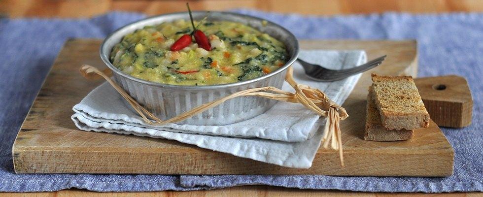 Farinata di mais e fagioli ricetta  Agrodolce