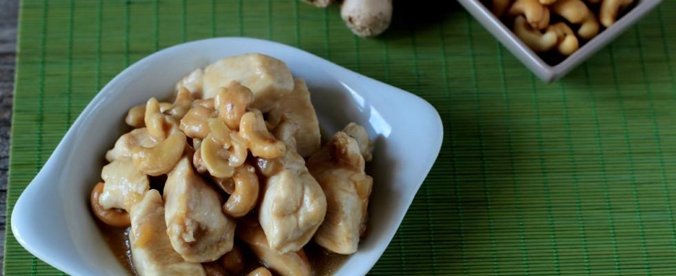 Pollo con anacardi ricetta thai  Agrodolce