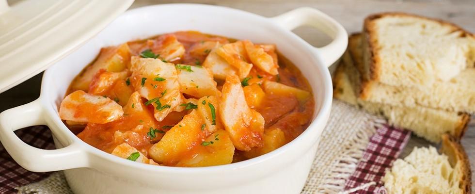 Stoccafisso con patate ricetta  Agrodolce