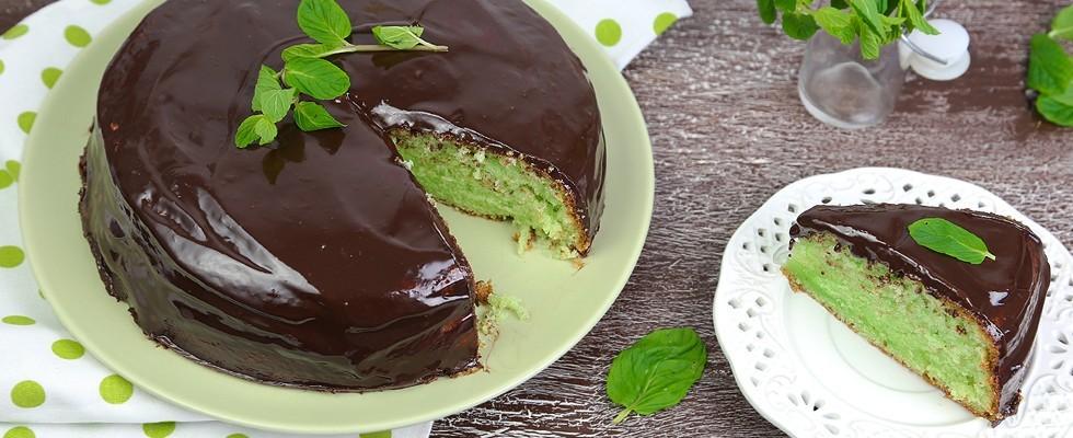 Torta Menta e Cioccolato ricetta  Agrodolce