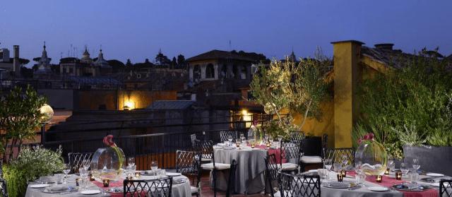 Terrazze gourmet a Roma gran finale il 9 luglio  Agrodolce