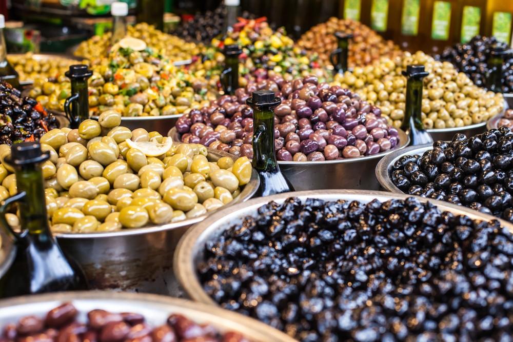 Una per ogni occasione tutti i tipi di olive  Agrodolce