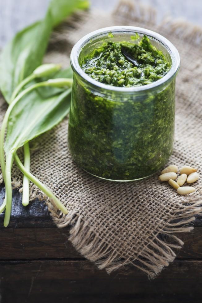 Ricetta Pesto di aglio orsino  Agrodolce