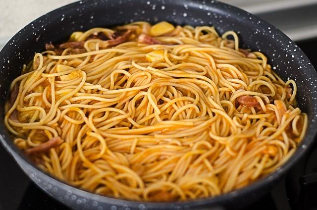 Ricetta Frittata di pasta al forno croccante  Agrodolce