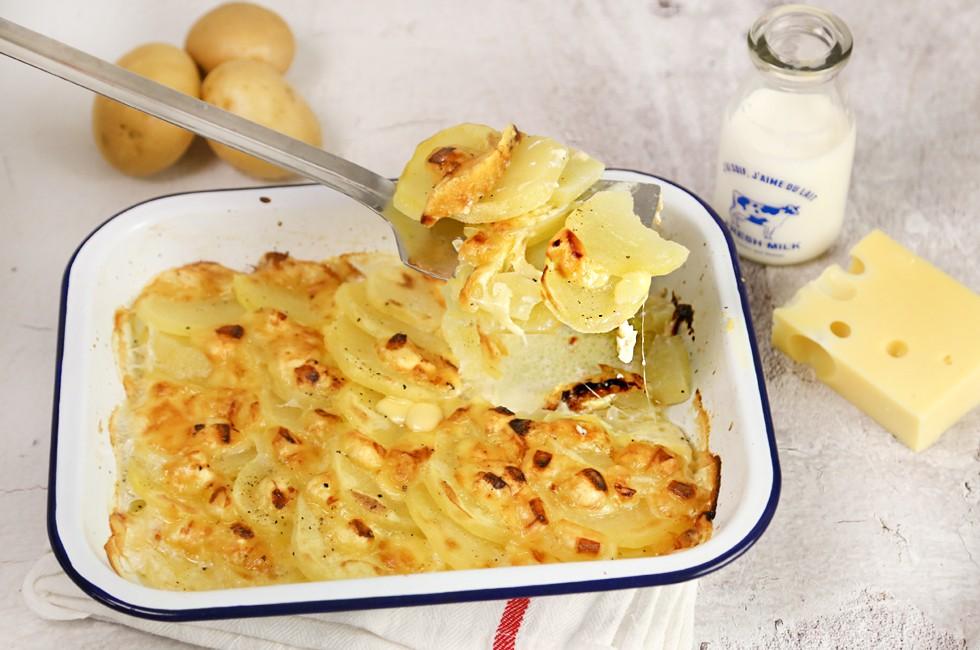 Ricetta Patate alla savoiarda ricetta piemontese  Agrodolce