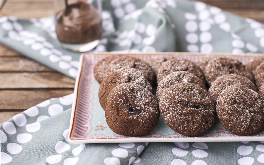 Ricetta Biscotti alla Nutella  Agrodolce
