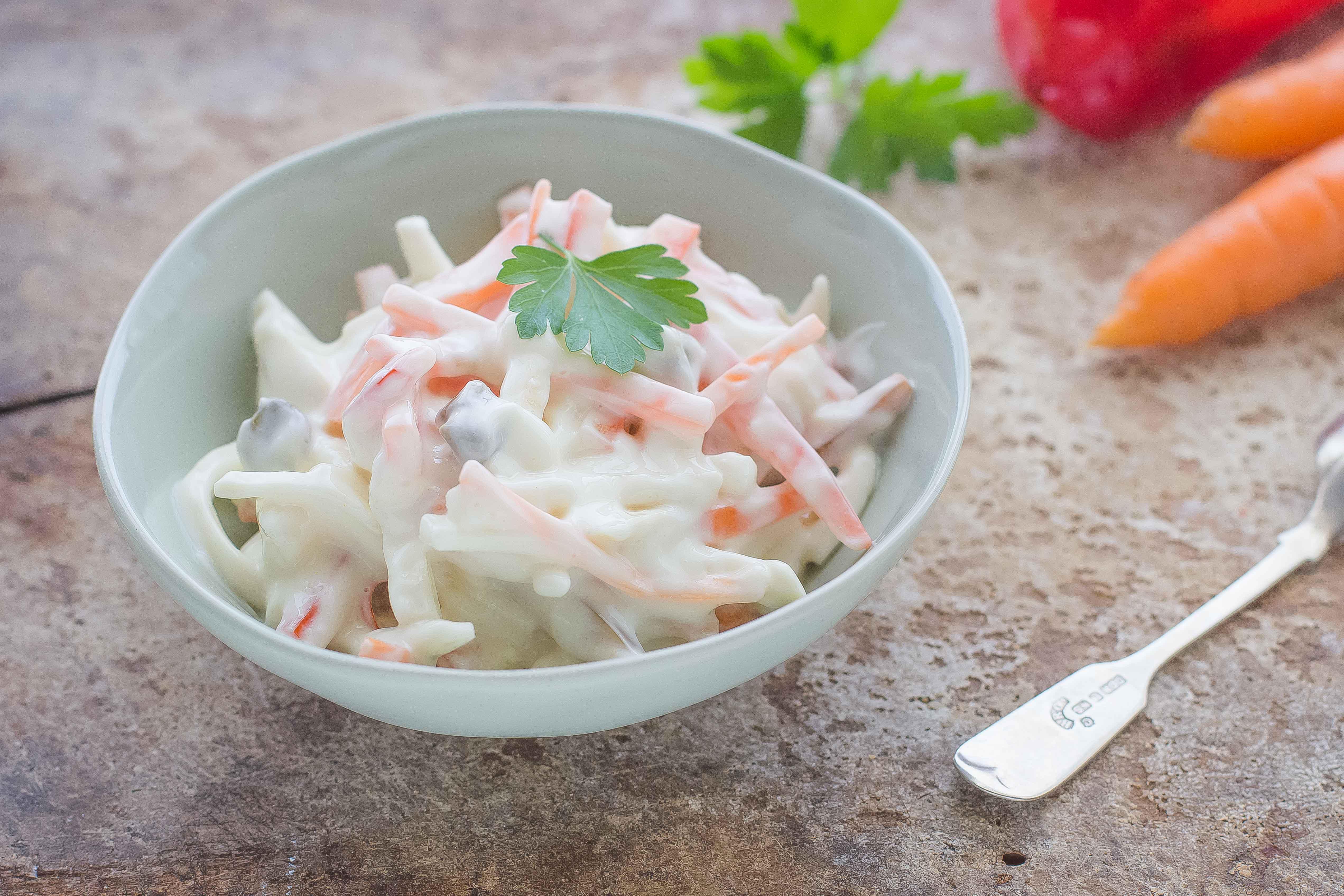 Ricetta Insalata capricciosa vegana  Agrodolce