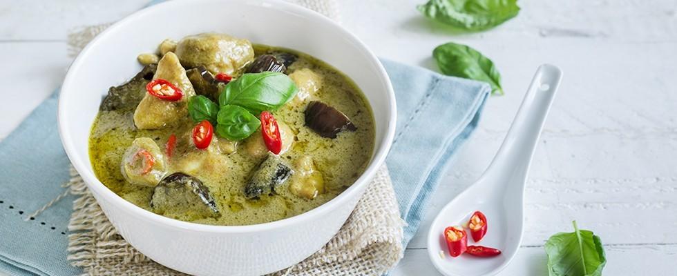 Ricetta Curry verde con pollo cucina thai  Agrodolce