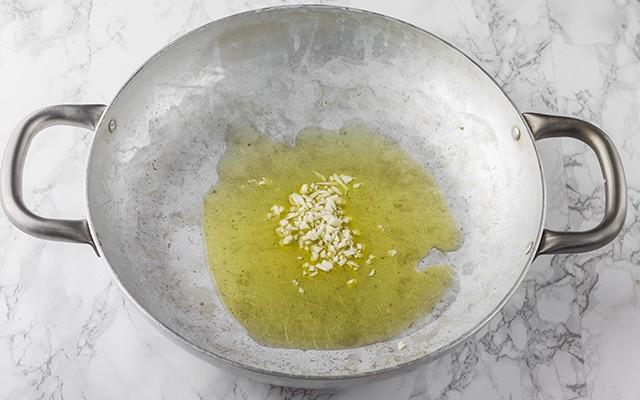 pasta con mejillones paso 2
