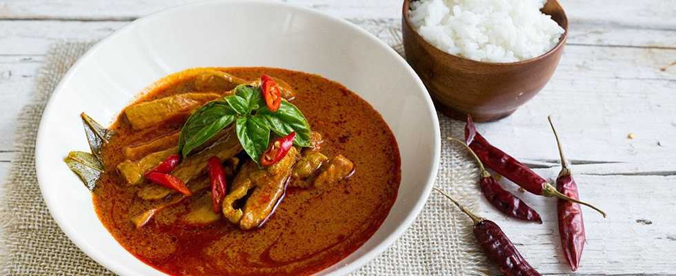Ricetta Curry rosso con maiale cucina thai  Agrodolce