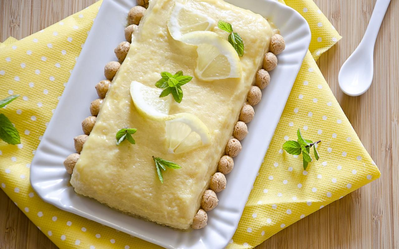Ricetta Bonet al limone  Agrodolce