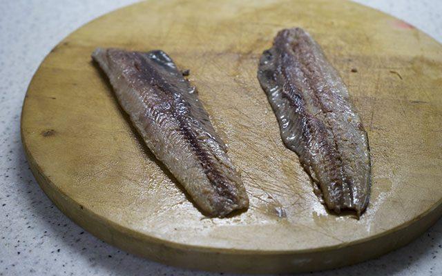 Ricetta Aringa affumicata al cartoccio con patate Agrodolce