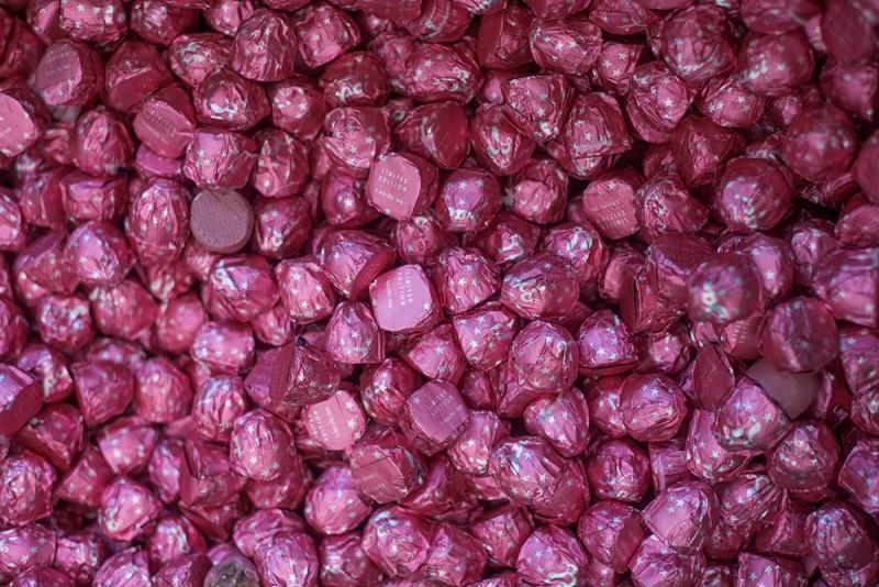 Il Bacio Perugina diventa rosa e si chiama Ruby  Agrodolce