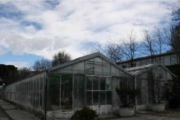Invernadero ecológico en la Escuela de Agrónomos