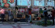 Huerto comunitario en Madrid: El Campo de Cebada