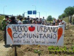 Huertos urbanos en Villaverde