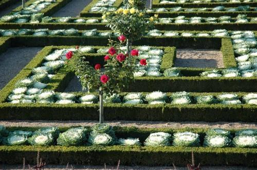 Jardines del palacio de Villandry. Fuente: www.chateauvillandry.fr