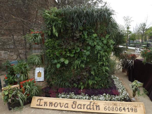 El jardín vertical de Innova jardín - Deco plant creado por el paisajista Daniel Ramas Marchesi