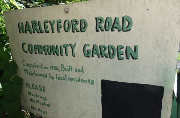 Harleyford Road Community Garden en Londres