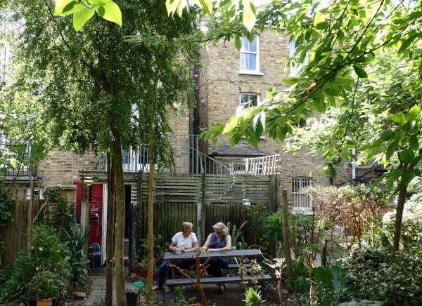 Community gardens en Londres