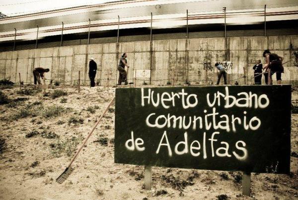 Huerto comunitario Adelfas