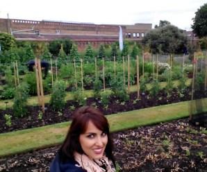 Visitando Kew on a Plate Kitchen Garden