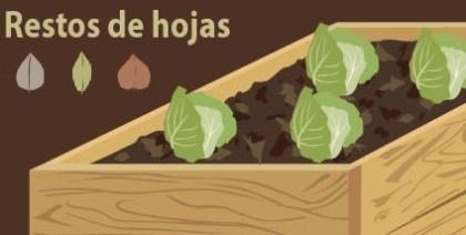 tipos de acolchados o mulching con hojas