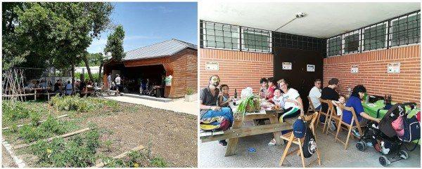Huerto del Retiro. Concurso de huertos escolares de Madrid