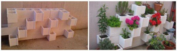 materiales reciclados para un huerto urbano barato