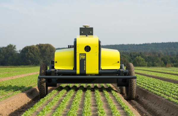 Robot para eliminar malas hierbas, ASTERIX