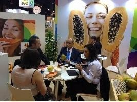 Mamão do Brasil é destaque na Fruit Attraction 2015 em Madrid