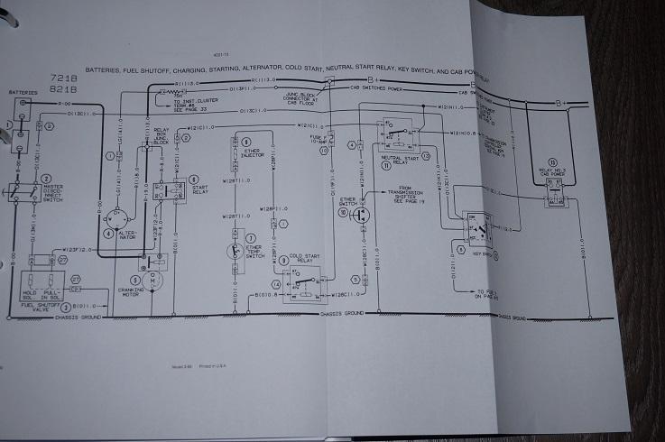 Home Switch Wiring Diagram Case Wheel Loader 621b 721b Service Workshop Repair Manual