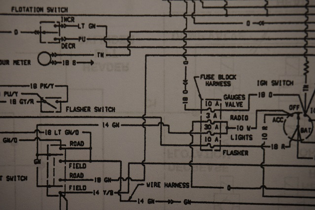 110 Electrical Schematic Wiring Diagram Case Windrower 8840 Workshop Service Repair Manual Book 8