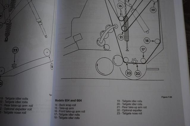 ford starter wiring diagram epiphone wildkat new holland round baler 634 644 654 664 workshop service manual book 40063440