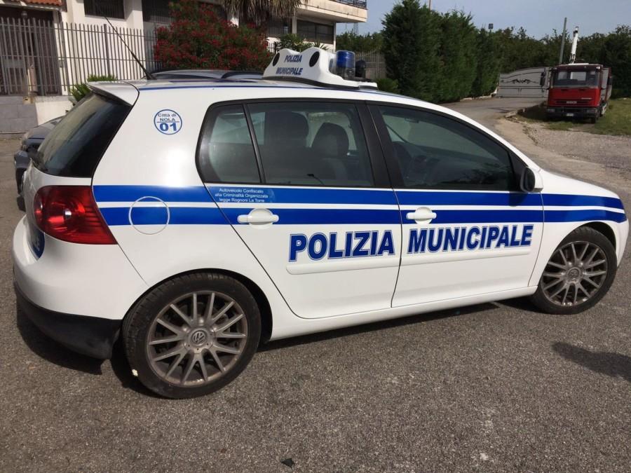 """Fermo amministrativo per due auto della polizia municipale. La posizione di """"Uniti per Nola"""""""