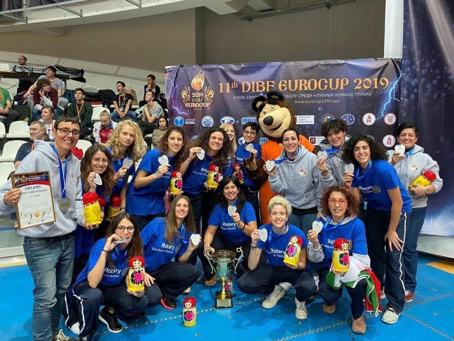 Una nolana e' medaglia d'argento all'EuroCup di Mosca